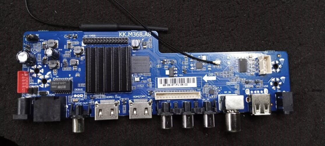 KK.M368.A8-Network Smart TV motherboard Android 9 0 Firmwares
